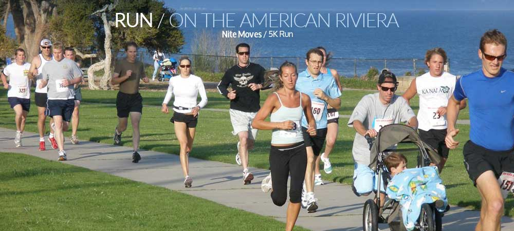 Nite Moves: the Summer Sunset Series : Run Santa Barbara